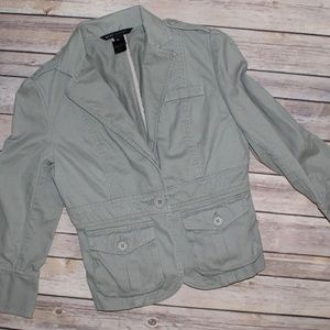 Marc Jacobs Blazer Military Style w Cargo Pockets